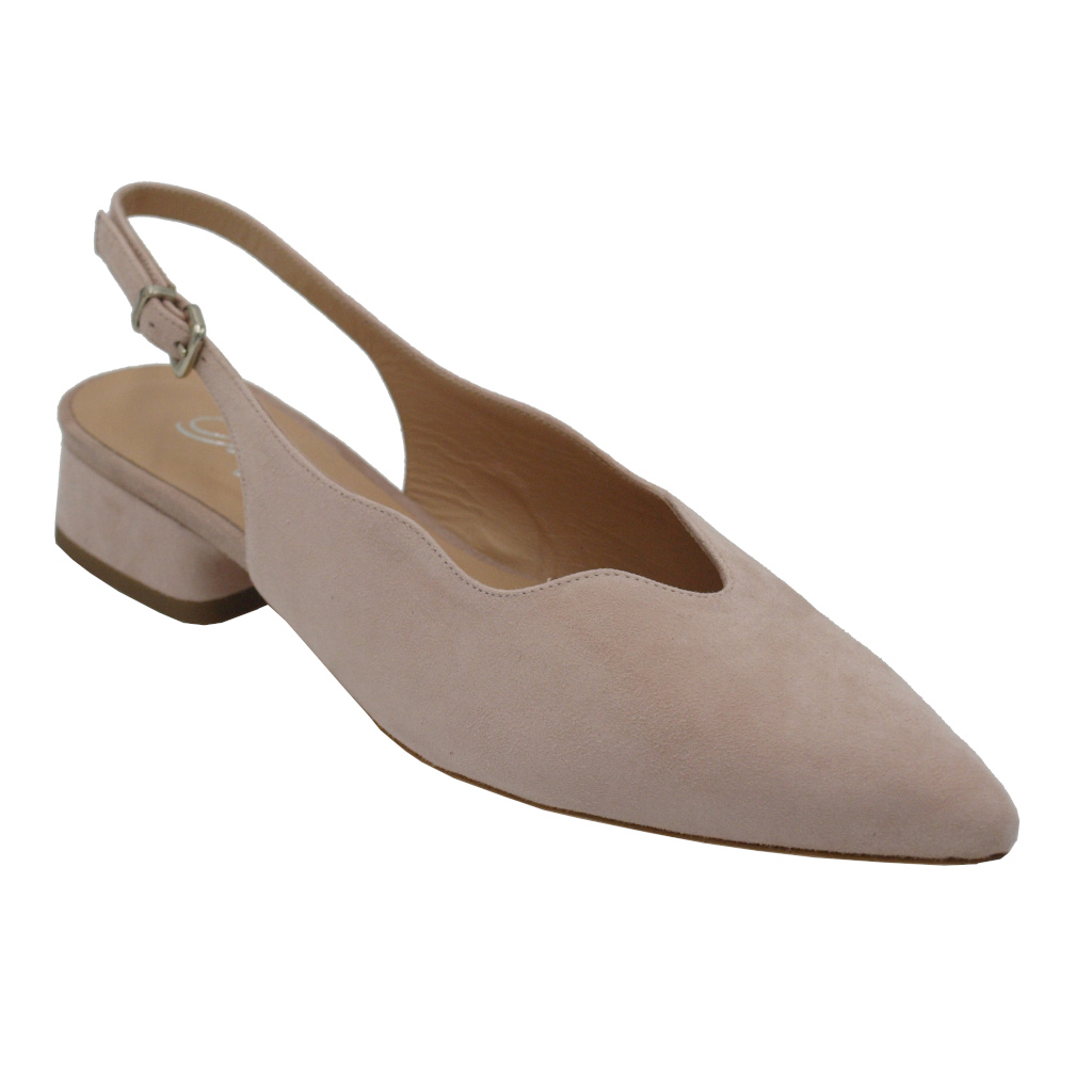 Angela Calzature  Shoes Pink chamois heel 2 cm