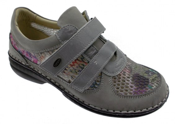 M2639 multi-color gray orthopedic shoe woman extra large plantar