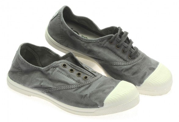 NATURAL WORLD ECO tennis cotone GRIGIO enz 102E 623