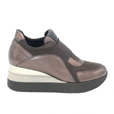 COMART calzaturificio standard numbers Shoes marrone chamois heel 6 cm