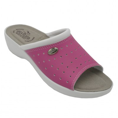 FLYFLOT standard numbers Shoes fuchsia ecopelle heel 3 cm