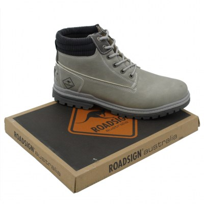 Roadsign standard numbers Shoes Grey Synthetic heel 1 cm