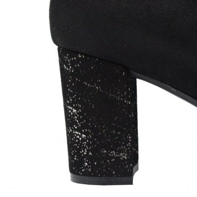 Soffice Sogno standard numbers Shoes black Synthetic heel 7 cm
