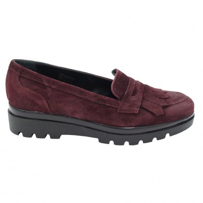 Soffice Sogno standard numbers Shoes bordeaux leather heel 3 cm