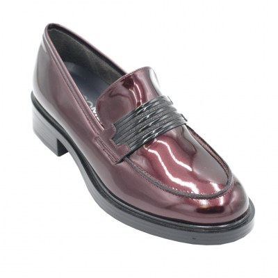COMART calzaturificio standard numbers Shoes bordeaux ecopelle heel 3 cm