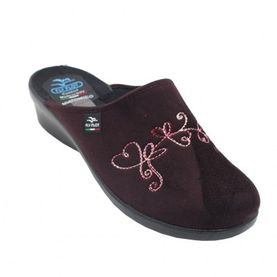 FLYFLOT special numbers Shoes bordeaux ecocamoscio heel 3 cm