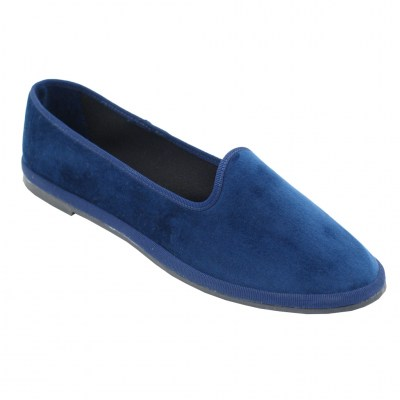 FRIULANE standard numbers Shoes Blue velluto heel  cm
