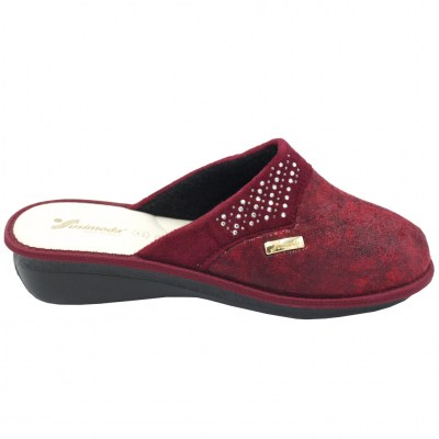 SUSIMODA special numbers Shoes bordeaux Fabric heel 2 cm