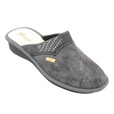 SUSIMODA special numbers Shoes Grey Fabric heel 2 cm
