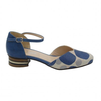 Angela Calzature  Shoes Light blue leather heel 3 cm