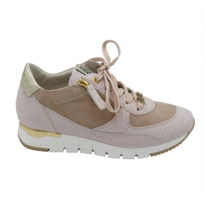 DL LUSSIL SPORT  Shoes Pink leather heel 2 cm