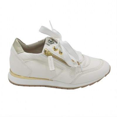 DL LUSSIL SPORT  Shoes Beige leather heel 1 cm