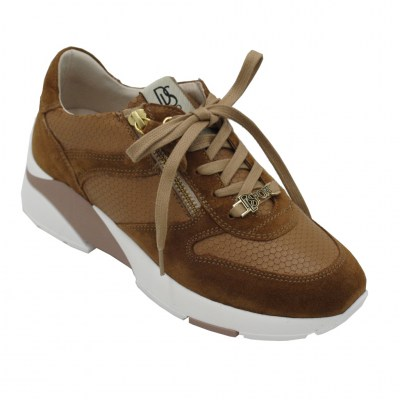 DL LUSSIL SPORT  Shoes marrone leather heel 2 cm