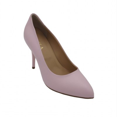Angela Calzature  Shoes Pink leather heel 8 cm