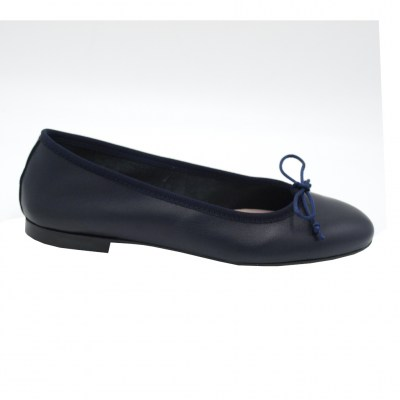 Angela Calzature  Shoes Blue leather heel 1 cm