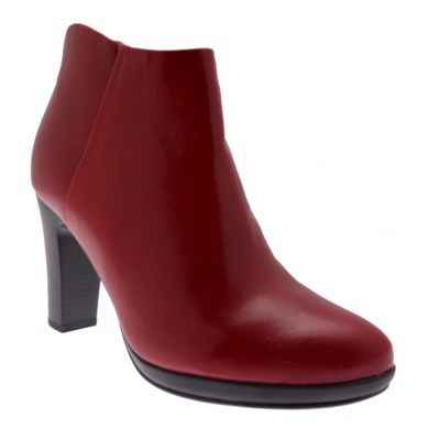 KEYS K-051 stivaletto bordeaux con cerniera ankle boot
