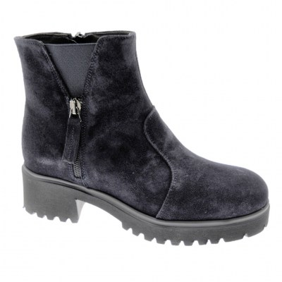 SOFFICE SOGNO 9823 stivaletto ankle boot BLU