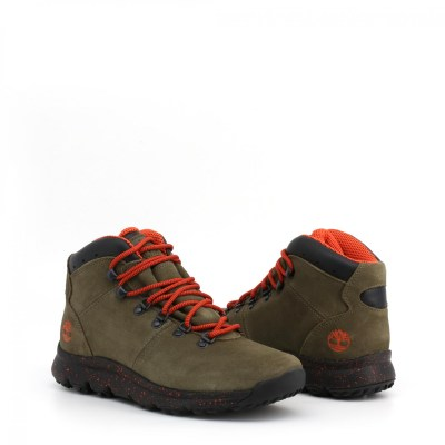 Timberland Stivaletti Uomo Autunno/Inverno Verde WORLD-HIKER-TB0A216KA58_DKGRN