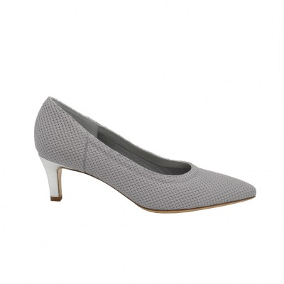 Angela Calzature Sposa e Cerimonia standard numbers Shoes Grey Fabric heel 5 cm