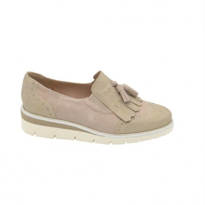 Calzaturificio Le Tulip special numbers Shoes Beige leather heel 3 cm