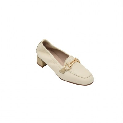 Calzaturificio Le Tulip standard numbers Shoes Beige leather heel 3 cm