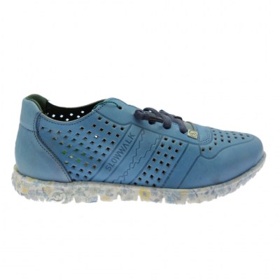 SLOWWALK W120 MORVI sneaker slip on blue jeans  plantare vegan shoes