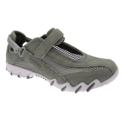 Mephisto Allrounder NIRO woman shoe military green removable anatomic footbed