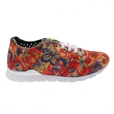 SLOWWALK W120 HELIOS-H-PRINT  sneaker slip on floral  plantare vegan shoes