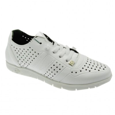 SLOWWALK W120 MORVI sneaker slip on BIANCO plantare vegan shoes