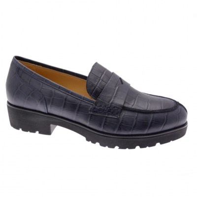 SOFT WOMAN DS0945 blue coconut moccasin woman shoe