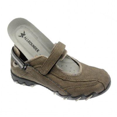 Mephisto Allrounder NIRO woman shoe sand removable anatomic plantar texture