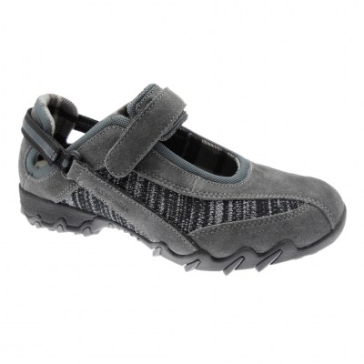 Mephisto Allrounder NIRO woman shoe shark gray anatomical removable footbed