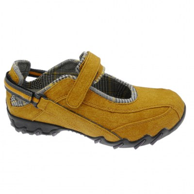 Mephisto Allrounder NIRO woman shoe removable anatomical plantar sunflower