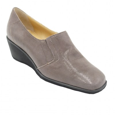 Angela Calzature Numeri Speciali special numbers Shoes marrone leather heel 3 cm