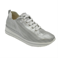 Melluso  Shoes Grey leather heel 2 cm