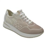 Melluso  Shoes Beige Fabric heel 2 cm