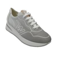 Melluso  Shoes Grey Fabric heel 2 cm