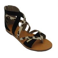 Les Tropeziennes sandali in nabuk colore nero tacco basso 1-4 cm