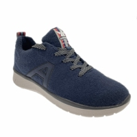 Mephisto Allrounder LA VIVA sneaker lana merino blu scarpa da ginnastica