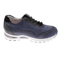 CALZATURIFICIO LOREN A1068 SNEAKER woman shoe blue laces orthopedic insole