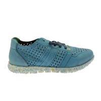 SLOWWALK W120 MORVI sneaker slip on blue jeans  plantare vegan shoes