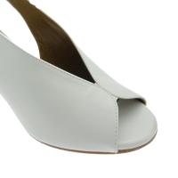 MELLUSO N622PT sandalo bianco tacco pitone