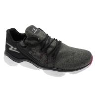 ADRUN 9102  FIT DAY sneaker grigio scuro elasticizzata