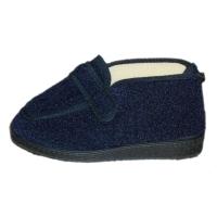 DAVEMA 350  pantofola blu strappo cerniera fisioterapia post operatorio