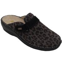 SUSIMODA scarpe donna pantofole ciabatte in pelle colore nero tacco basso 1-4 cm   nr 42 numeri speciali